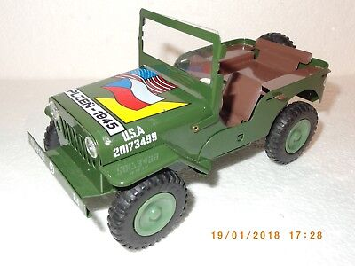 GAMA ites - US ARMY JEEP WILLYS PLZEN-1945 - ORIGINAL BOX / KARTON