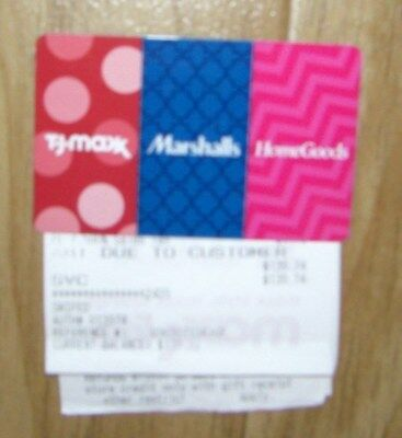 **tj Maxx / Marshalls / Homegoods**gift Card / Merchandise Credit**$139.74**buy!