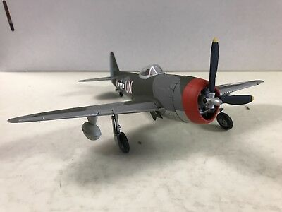 Franklin Mint Armour P-47 Thunderbolt 1/48 Scale Plane Collection Diecast Used