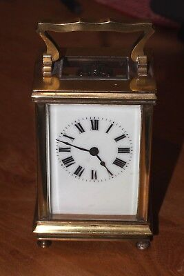 Antique carriage clock in good condition and full working order