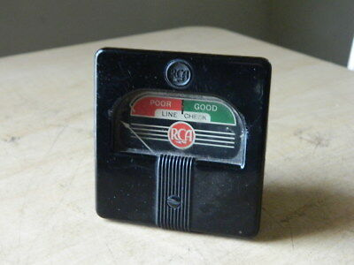 Working Meter for Early RCA 156 Tube Tester Get a Spare While you Can FREE SHIP