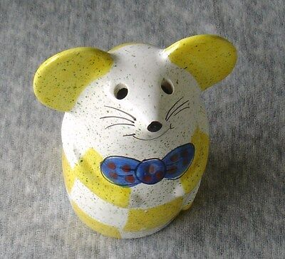 Ceramic Cheese Shaker Mouse - Italy
