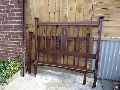 Edwardian Double Bed frame/  Antique Double Beds frame / Vono