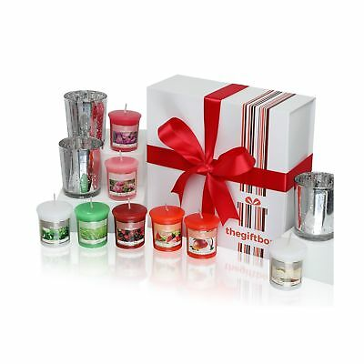 Luxurious Scented Candles Gift Set by The Gift Box. Comprises 8 Different... NEW