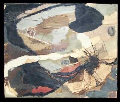 Bruce Conner collage painting, (after)1960s