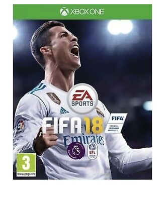 FIFA 18 (Xbox One) Brand New & Sealed UK PAL Quick Dispatch Free UK Shipping