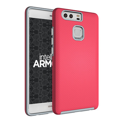 intelliARMOR Huawei P9 - Sentry Series [Pink] Ultra Rugged
