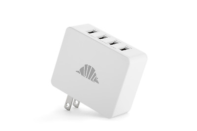 intelliARMOR 5A 4-Port USB Portable Charger with intelliSMART Technology
