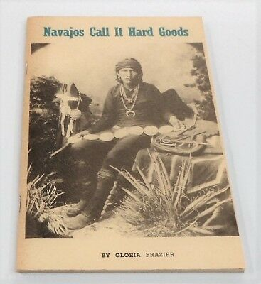 Vintage Navajos Call It Hard Goods By Frazier (Signed) Silversmithing/turquoise