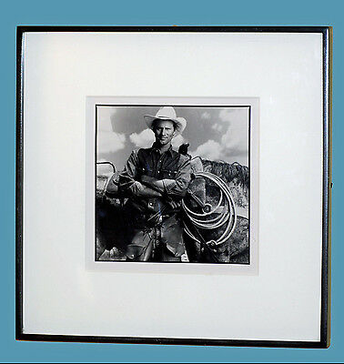 Authentic Annie Leibovitz Photograph Of Sam Shepard- Gallery Framed-Press Photo
