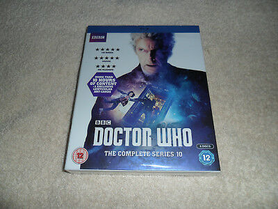 Doctor Who - Series 10. Blu-Ray. Brand New & Sealed.