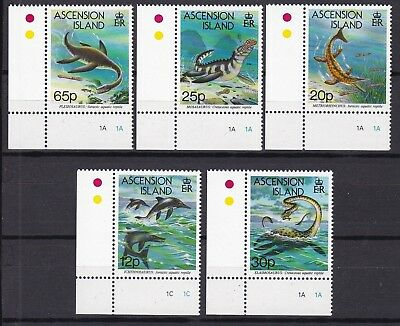 T37077 Ascension 623-627 postfr./mnh Dinosaurier dinosaurs