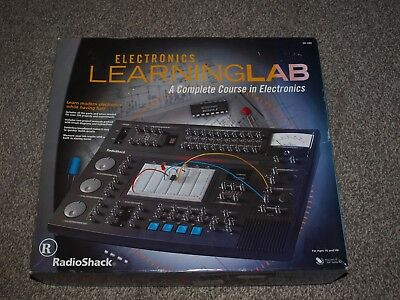 Lab #28-280 Radio Shack Electronic Learning  Course in Electronics MINT READ