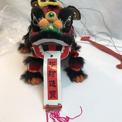 Chinese Dragon Marionette Hanging Dance Puppet (A)