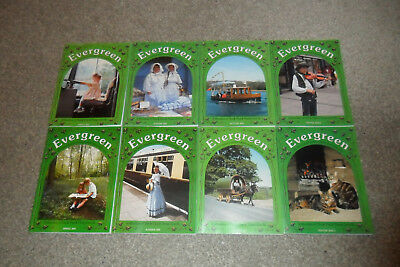 All 8 EVERGREEN History Magazines From 2001 & 2002