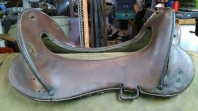 "Model 1896 McClellan Cavalry Saddle,11 1/2"" seat,Iron Stirrup Hangers,no Reserve"