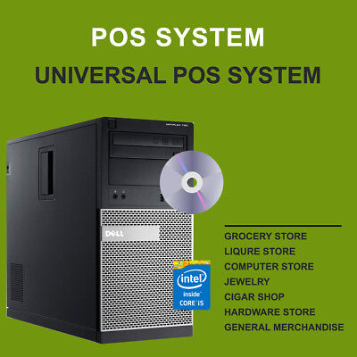 Universal POS System (Computer + Software) Free Training