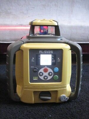 Topcon RL-SV2S Dual Slope Laser Level ONLY NOTHING MORE
