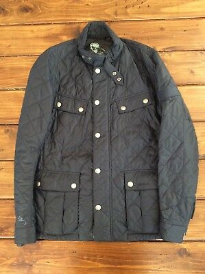 Men's Barbour Ariel International Quilted Jacket Size L