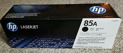GENUINE HP LASERJET 85a BLACK TONER CARTRIDGE CE285A