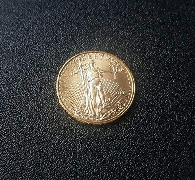 2017 1/10 oz Gold American Eagle FREE PRIORITY SHIPPING!