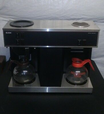BUNN Commercial Three Burner VPS Coffee Maker Brewer And Coffee Pots