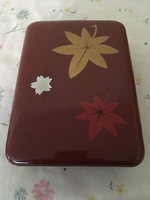 Vintage Japanese Lacquered Bento Box, Lunch Box