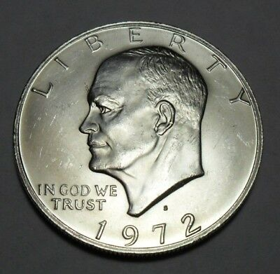 1972 S Eisenhower Dollar Coin   *40% Silver*   **free Shipping**