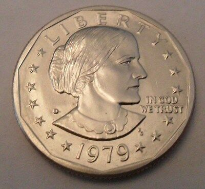 1979 D Susan B Anthony (SBA) Dollar Coin  **FREE SHIPPING**