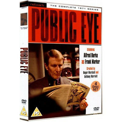 Public Eye - Entire 1971 Series NEW PAL Cult 4-DVD Set