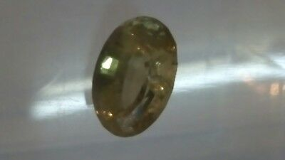 CHRYSOBERYLL facettiert, 12,6x9mm oval, 6,25ct.