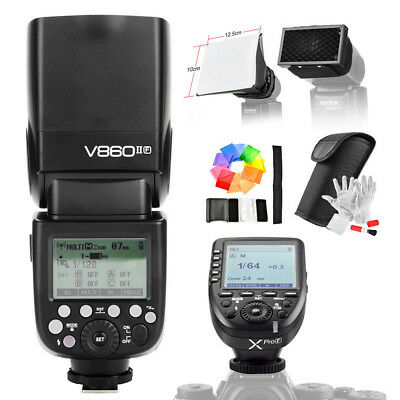 Godox Ving V860II-F 2.4G TTL Li-ion Flash For Fuji+ Xpro-F TTL HSS Flash Trigger