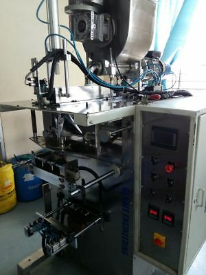 Molasses tobacco pouch packing machine, Horizontal Auger based FFS