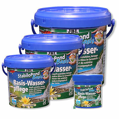 JBL stabilopond Base grundpflegemittel For All Garden Ponds Without