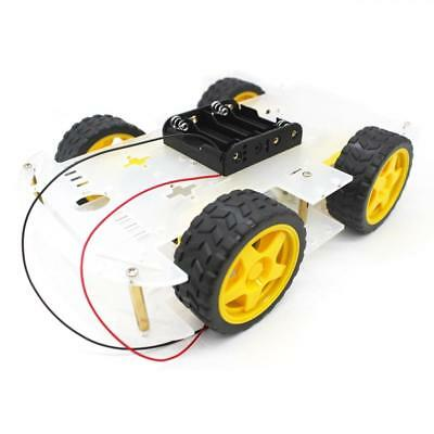 YIKESHU 4-Rad Roboter Smart Car Chassis Kits Auto Modell mit Speed Encoder...