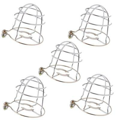 Pack 5pcs Fire Fighting Sprinkler Spray Head Protection Cover Guard Screen