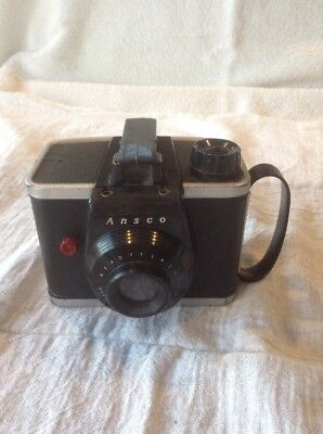 ANSCO READYFLASH BOX CAMERA with Strap Vintage Photography Photo USA