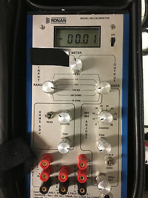 RONAN  X85 CALIBRATOR - Good Condition, All Functions Work, No Charger