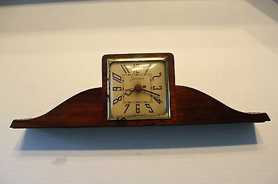 Sessions Mantel / Shelf Clock  Model 2W Electric  Runs Smoothly/Quiet/Accurate