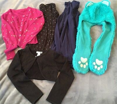 Girls Size 5/6 Mixed 5pc Lot Fall Clothes VGUC