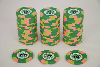 20 Paulson 2005 CDI $25 denomination poker chips - excellent condition