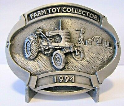 Allis Chalmers WD45 Tractor Belt Buckle Ltd Ed 139 3rd Series Farm Toy Collector