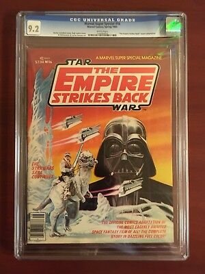 Marvel Special Edition Star Wars: The Empire Strikes Back #2 (1980) CGC 9.2