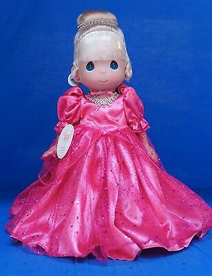 Cinderella Disney Spring 2013 Sweetheart Precious Moments Doll Signed 4859