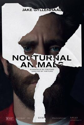 Nocturnal Animals Jake Gyllenhaal 27x40 Movie Poster Double Sided 2016