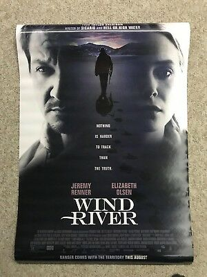 Wind River 27x40 Movie Poster Double Sided 2017