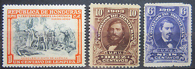 Lot Honduras Briefmarken - Siehe Fotos!