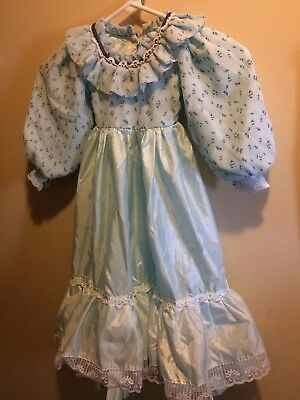 Cute Vintage Hand-made Child's Long-Sleeve Dress (No Tags-Estimated Size:5T/6X)