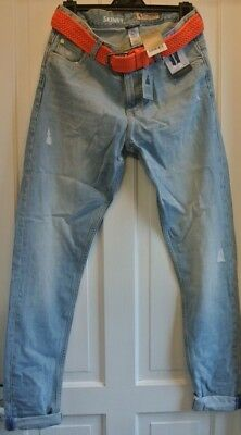 New Boys Next Boys 100% cotton Vintage Look Jeans Blue age 14 years