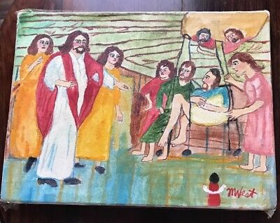 """Jesus Visits The Sick ""By Myrtel West"